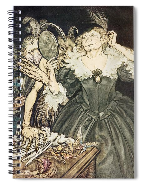 So Perfect Is Their Misery Spiral Notebook
