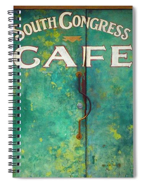 Soco Cafe Doors Spiral Notebook
