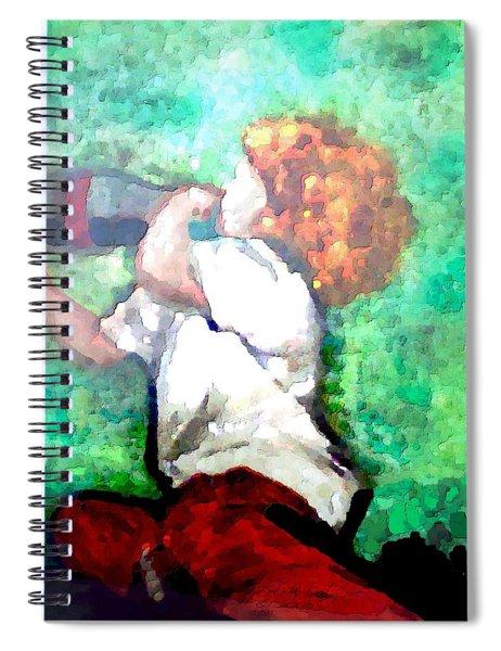 Soda Pop Child Spiral Notebook