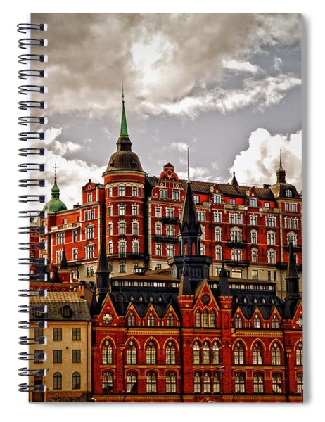 Sodermalm Iv Spiral Notebook