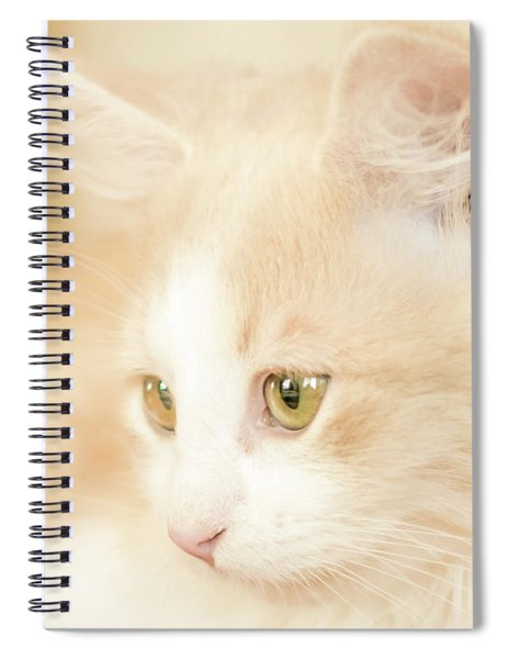 Soft And Dreamy Spiral Notebook