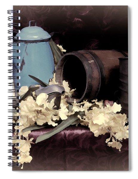 Soft Country Kitchen Spiral Notebook