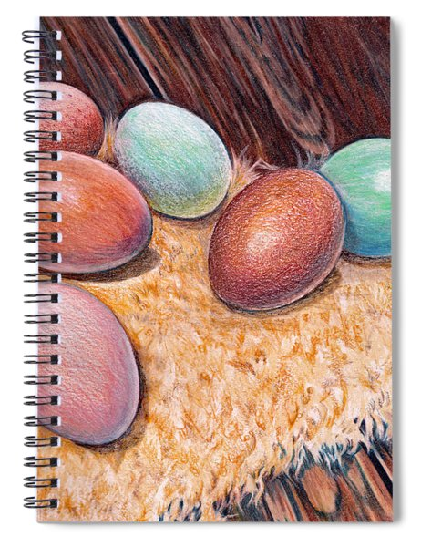 Soft Eggs Spiral Notebook