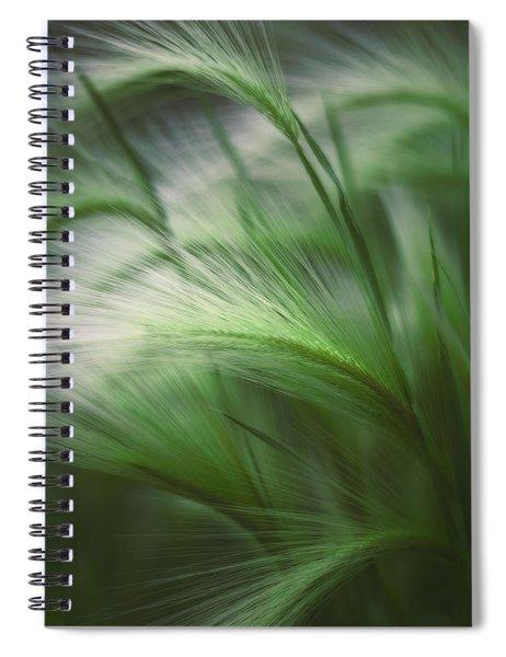 Soft Grass Spiral Notebook