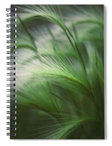 Soft Grass Spiral Notebook