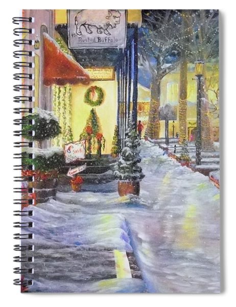 Soft Snowfall In Dahlonega Georgia An Old Fashioned Christmas Spiral Notebook
