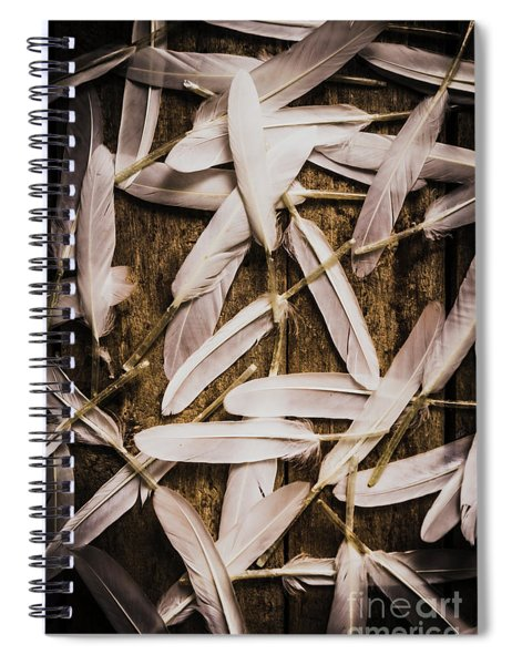 Soft Symbol Of Peace And Hope Spiral Notebook