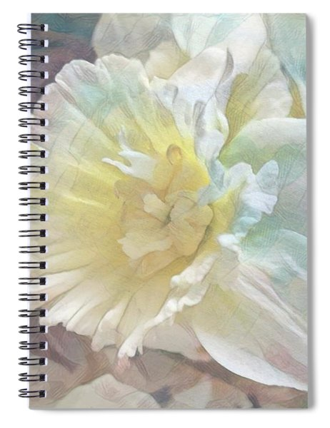 Softly Stands My Daffodil Spiral Notebook