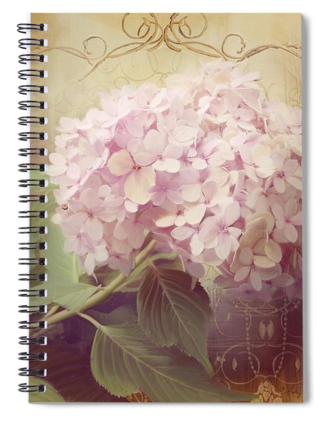 Softly Summer - Hydrangea 2 Spiral Notebook