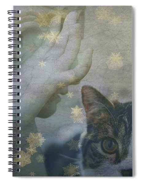 Softly Whispering I Love You  Spiral Notebook