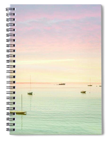 Softness And Light Spiral Notebook
