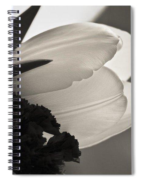 Lit Tulip Spiral Notebook