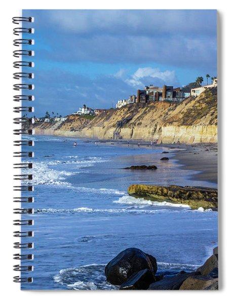 Solana Beach Spiral Notebook