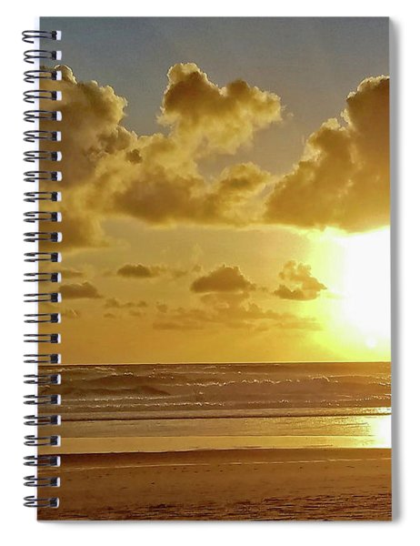Solar Moment Spiral Notebook