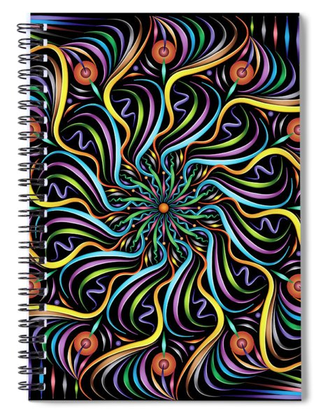 Solarium Spiral Notebook