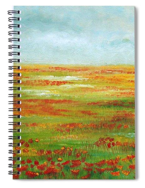 Solarized Spiral Notebook