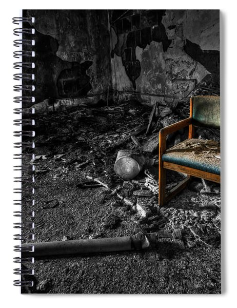 Sole Survivor Spiral Notebook