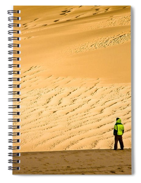 Solitude In The Dunes Spiral Notebook