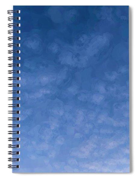 Solstice Dawn Spiral Notebook