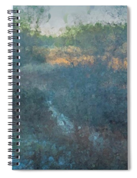 Solstice On The Meadows Spiral Notebook