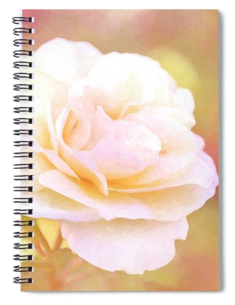Solstice Rose Spiral Notebook