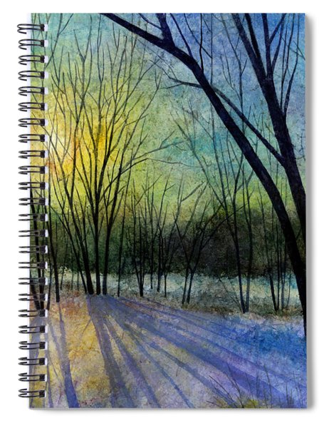 Solstice Shadows Spiral Notebook