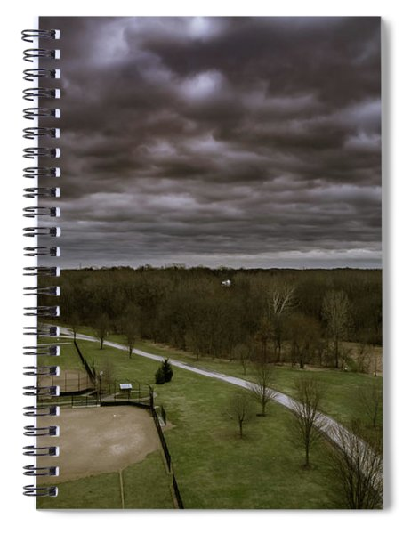 Somber Day Spiral Notebook