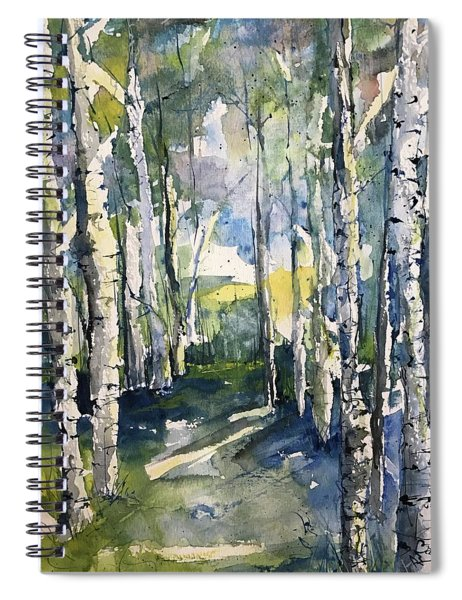 Somebodys Camino Series   Early Morning Riser Spiral Notebook