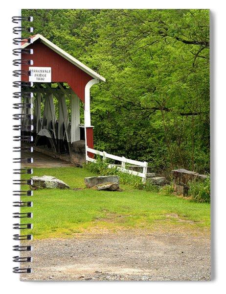 Somerset Bridge To The Past Spiral Notebook