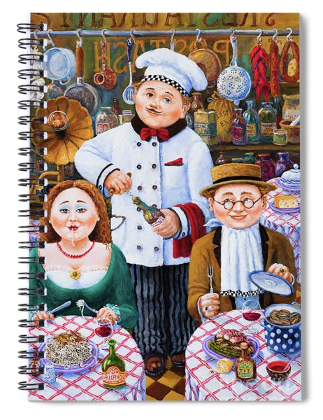 Something About Food 2 Spiral Notebook