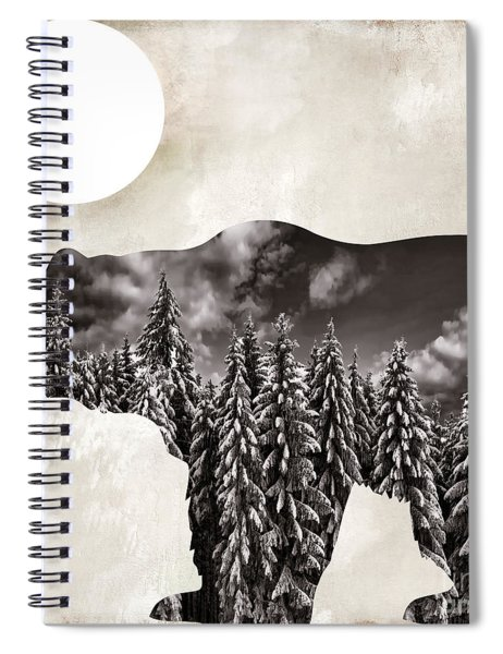 Something Wild Bear Spiral Notebook