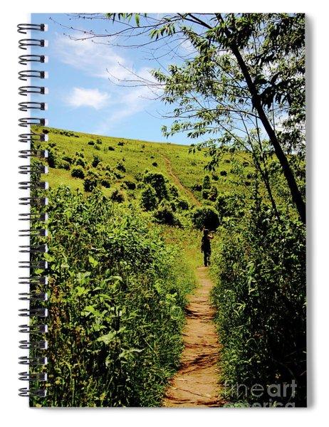 Sometimes We Walk Alone Spiral Notebook