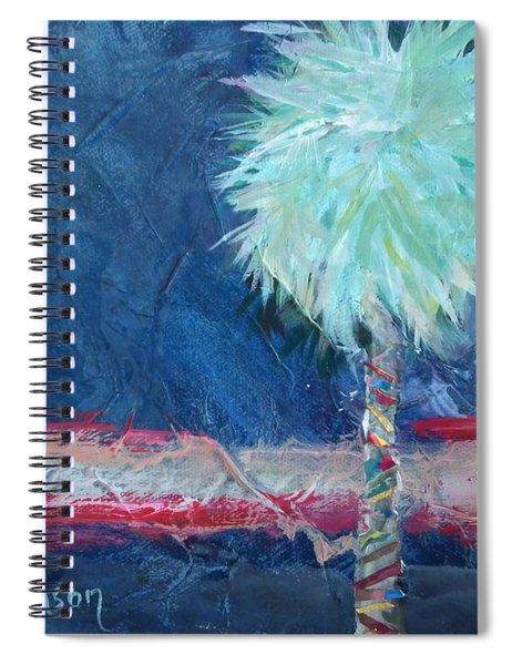 Somewhat Preppy Horizons Spiral Notebook