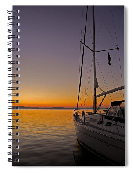 Somewhere Beyond The Sea ... Spiral Notebook
