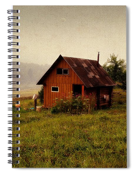 Somewhere In The Countryside. Russia Spiral Notebook