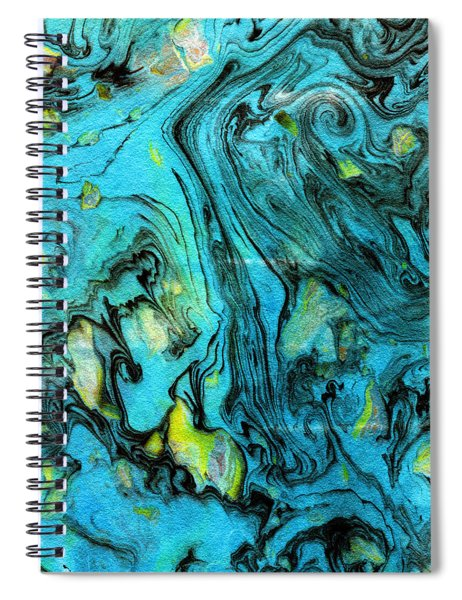 Somewhere New 6- Art By Linda Woods Spiral Notebook