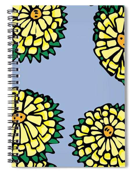 Sonchus In Color Spiral Notebook