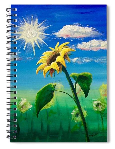 Sonflower Spiral Notebook