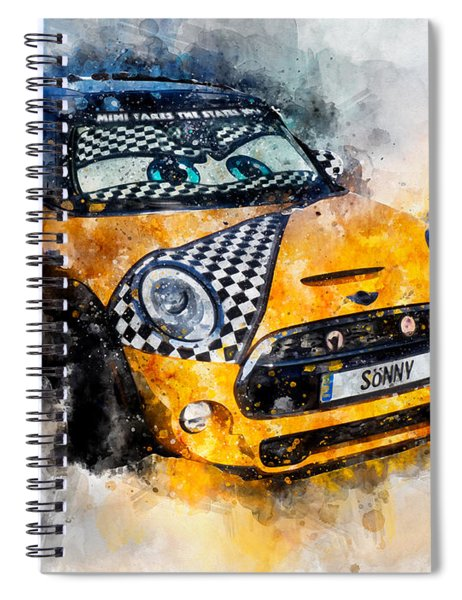 Sonny Watercolor Spiral Notebook
