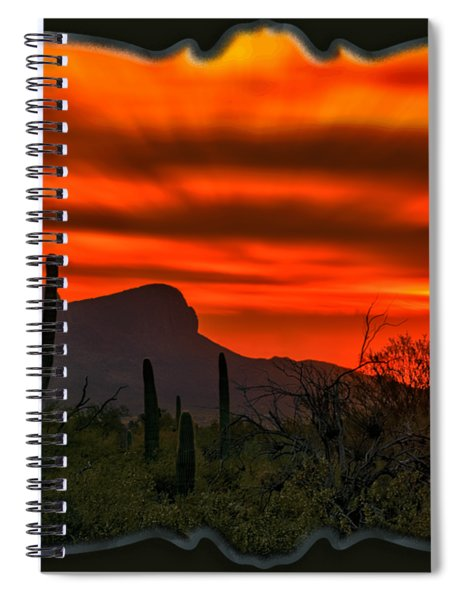 Sonoran Sunset H38 Spiral Notebook