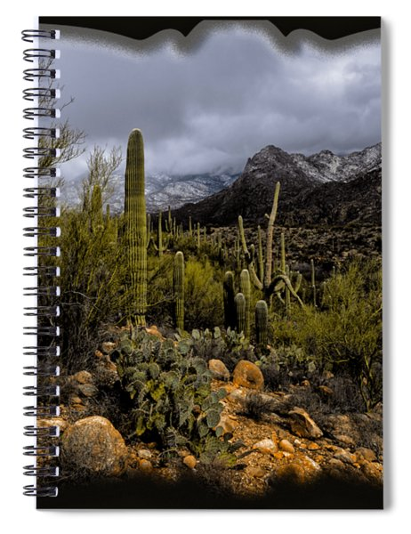 Sonoran Winter No.1 Spiral Notebook