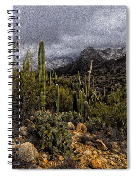 Sonoran Winter No.3 Spiral Notebook