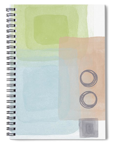 Soothing Harmony 2- Art By Linda Woods Spiral Notebook