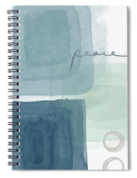 Soothing Peace- Art By Linda Woods Spiral Notebook