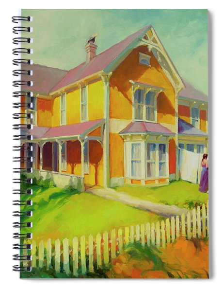 Sophie And Rose Spiral Notebook