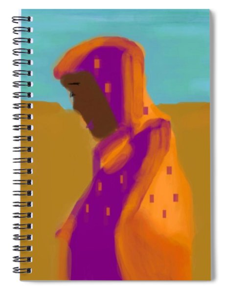 Sorrowful Mother Of The Past And Present Spiral Notebook