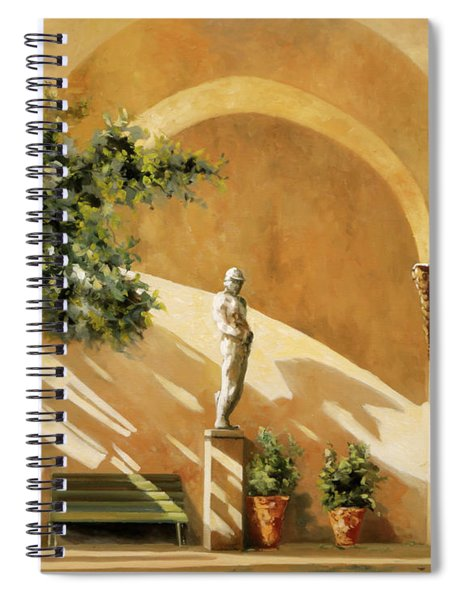 Sotto Il Portico Spiral Notebook