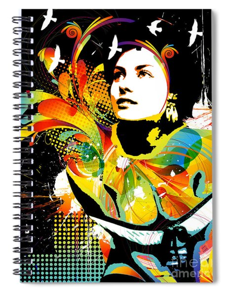 Soul Explosion II Spiral Notebook