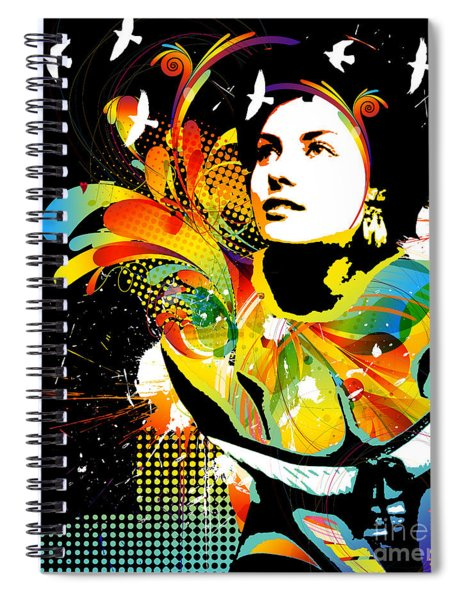 Soul Explosion II Spiral Notebook