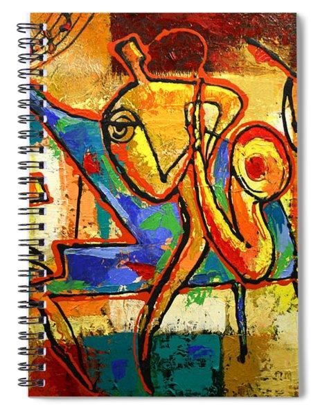 Soul Jazz Spiral Notebook